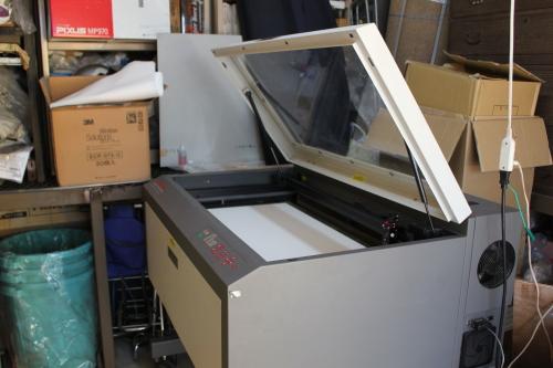 ユニバーサルのレーザー加工機