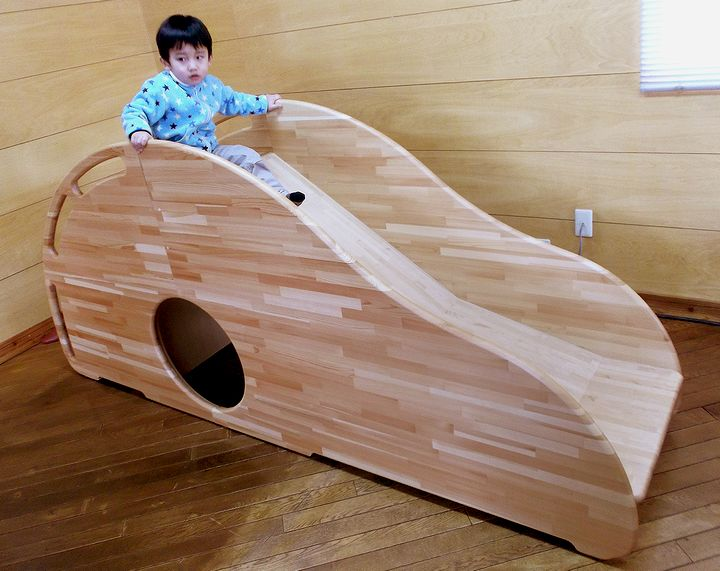 木プロテック様が作成された木製すべりだい02