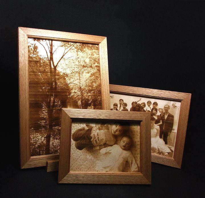木プロテック様作成の木材写真彫刻01