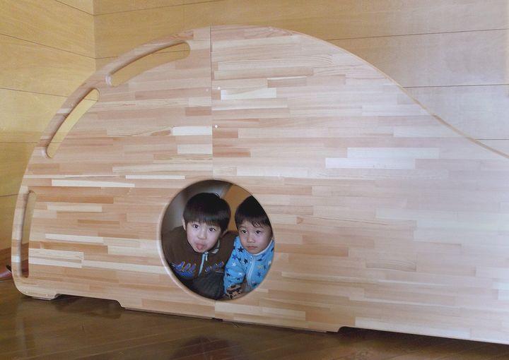 木プロテック様が作成された木製すべりだい03