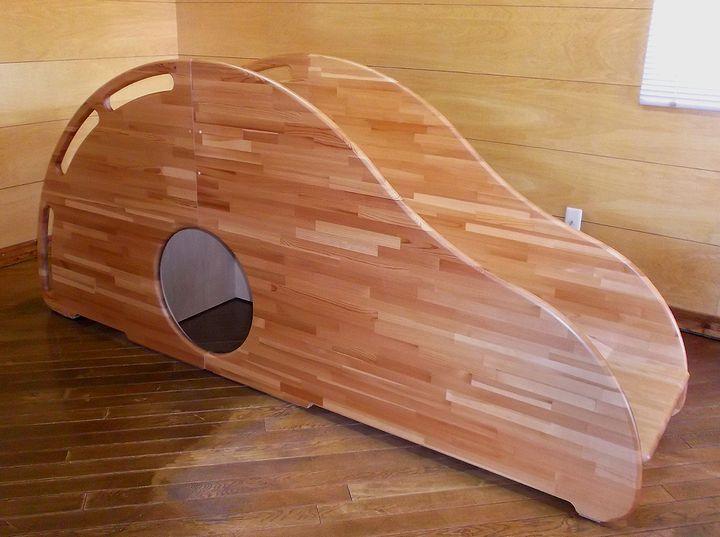 木プロテック様が作成された木製すべりだい01