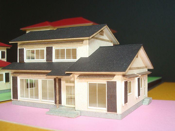 赤堀様のレーザー加工で製作された住宅模型03