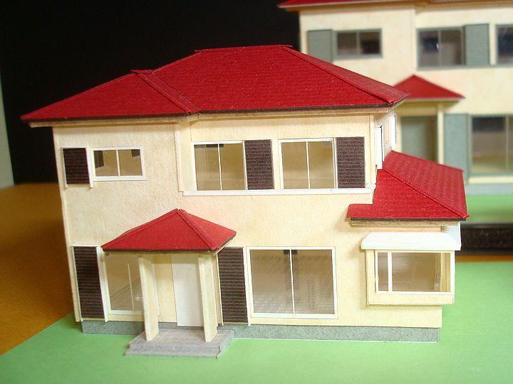 赤堀様のレーザー加工で製作された住宅模型02
