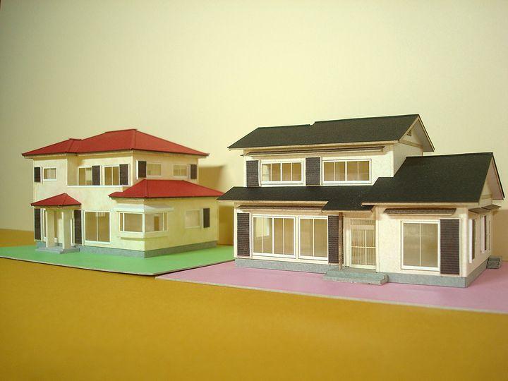 赤堀様のレーザー加工で製作された住宅模型01