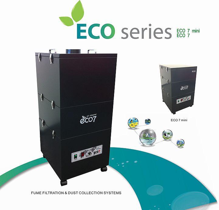 集塵脱臭装置 Eco7・Eco7mini