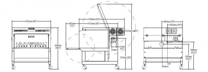 pls4.75の寸法図