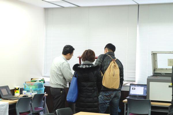 ヨコハマシステムズ大阪展示会場の様子その3