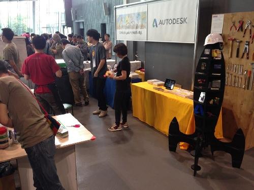 Maker Faire Tokyo 2013 会場の様子