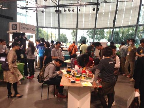 Maker Faire Tokyo 2013 会場の様子その2
